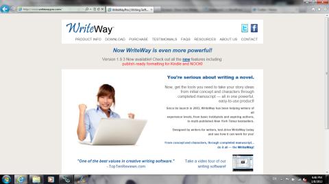 WriteWay website