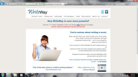 WriteWay website